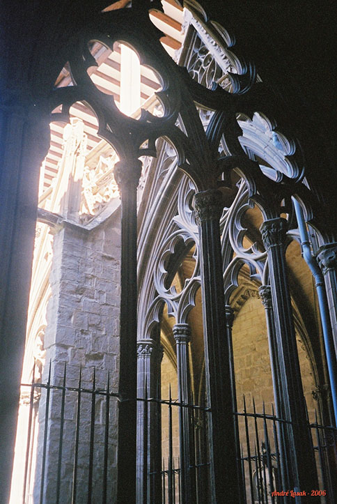 Claustro da Catedral de Pamplona
