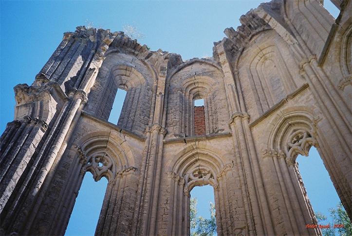 Detalhe do Monasterio de San Antón