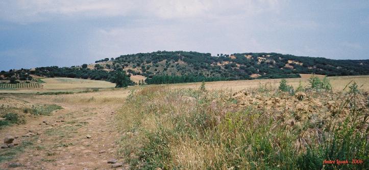 Algum lugar entre Santibáñes de Valdeiglesias e San Justo de la Vega
