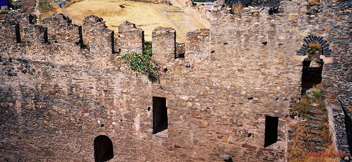 Muralhas do Castillo Templario de Ponferrada