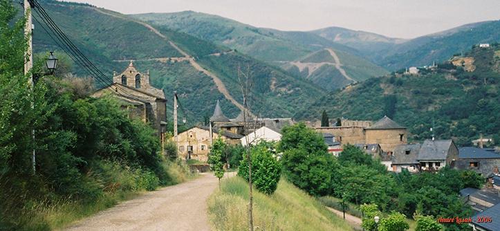 Entrada de Villafranca del Bierzo