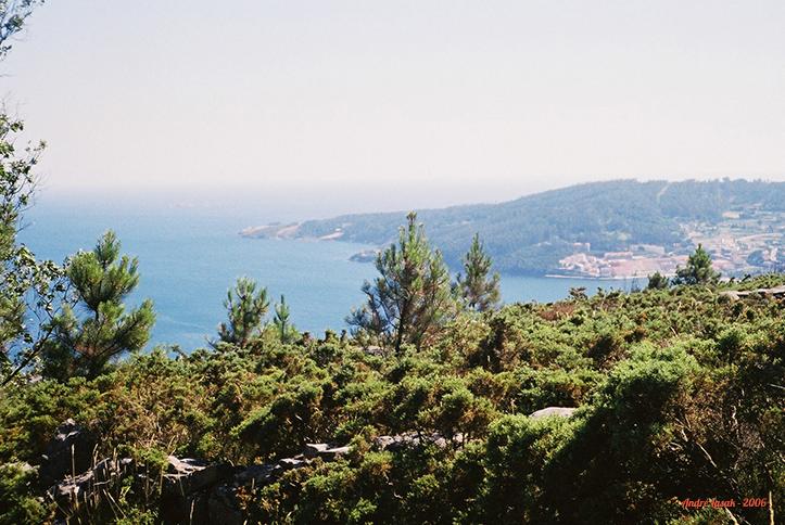 Depois de atravessar toda a Espanha a pé, essa foi a nossa primeira visão do mar