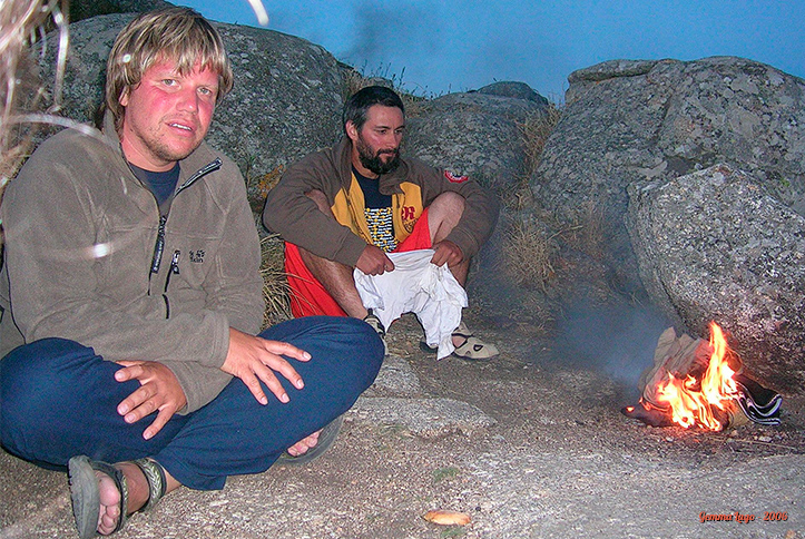 Cabo Fisterra: Peter, eu e a fogueira da purificação